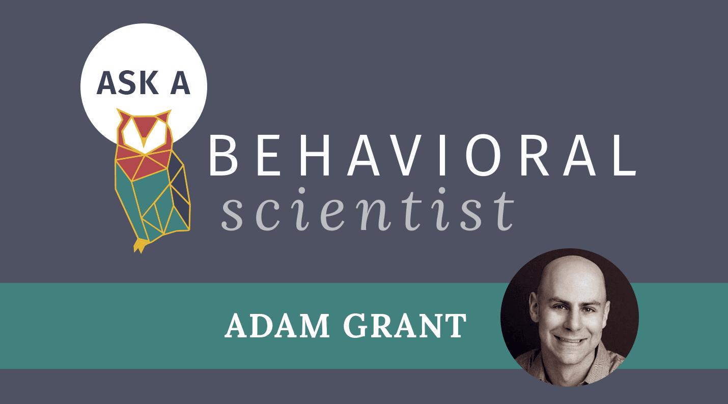 Ask A Behavioral Scientist Archives Behavioral Scientist