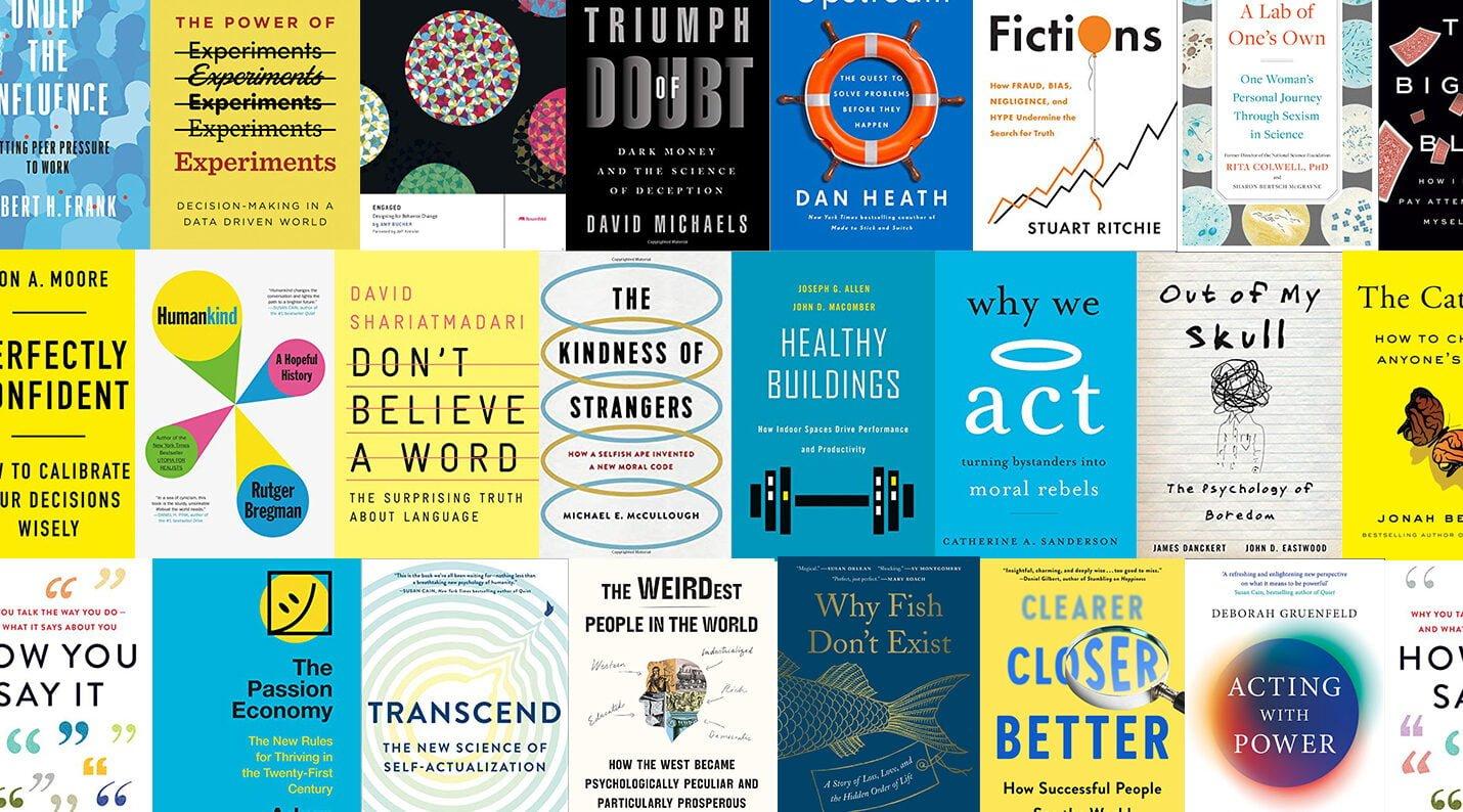 Behavioral Scientist's Summer Book List 2020