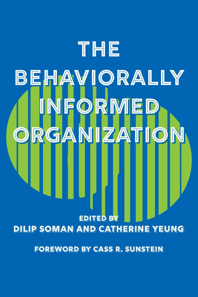 The behaviorally informed organization