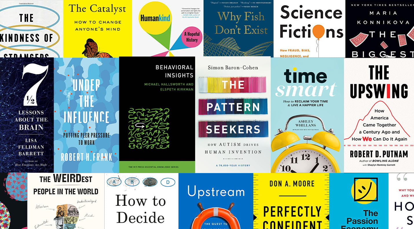 behavioral economics and science books of 2020 2021